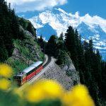 Train tour Berner Oberland