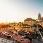 Lausanne City view